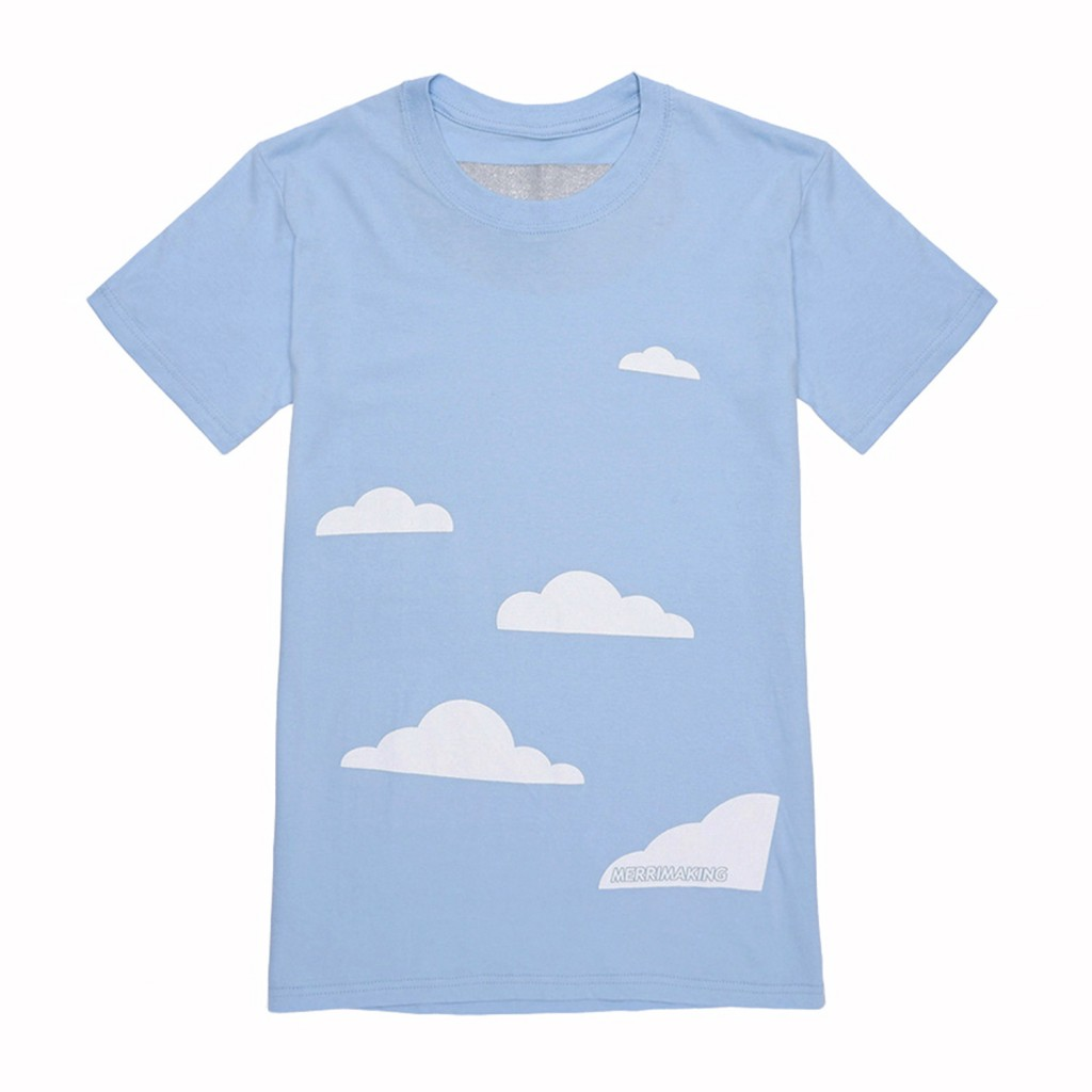 Cloud tee product_Merrimaking_W&B