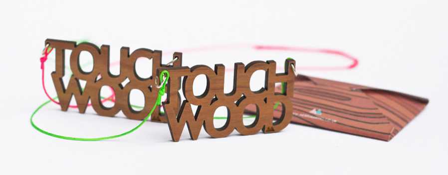 Touch Wood Necklace